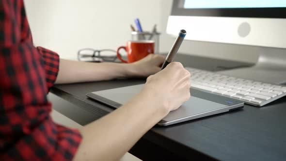 Thumbnail for Designer Working