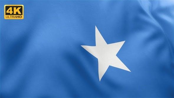 Thumbnail for Flag of Somalia - 4K