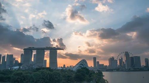 Marina Bay Sands of Singapore