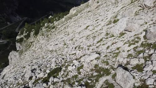 Aerial Mountain Detail