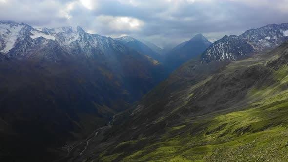 High Altitude European Alps
