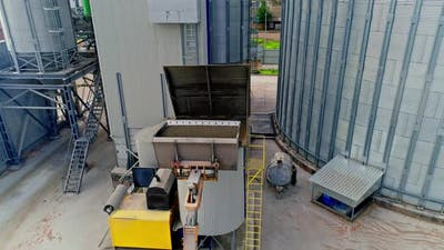 Corn Dryer Silos Inland Grain Terminal