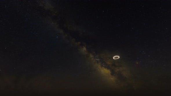 UFO Flying 4K