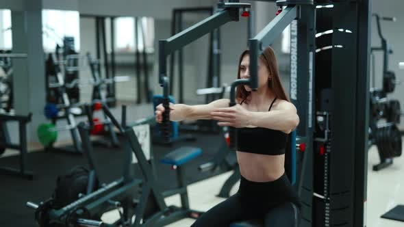 Pretty Woman in the Gym