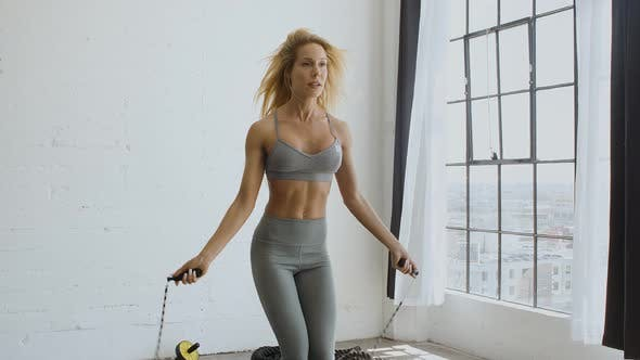 Thumbnail for Athletic Woman Working Out