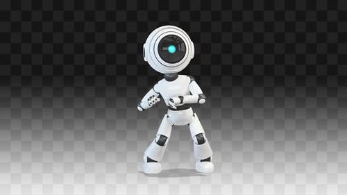 Robot Silly Dancing