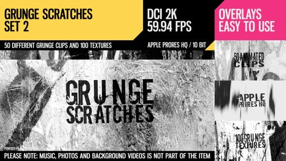 Thumbnail for Grunge Scratches (2K Set 2)