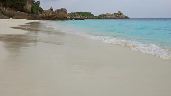 Thumbnail for Beach and Rocks on Similan Islands at Morning
