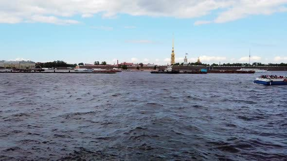 Thumbnail for Peter and Paul Fortress the Neva River in St. Petersburg