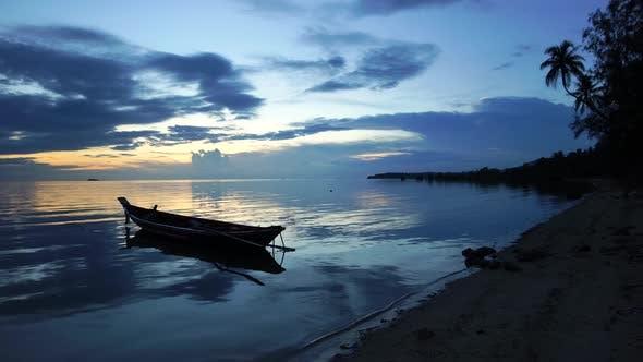 Thumbnail for Boat At Tropical Beach