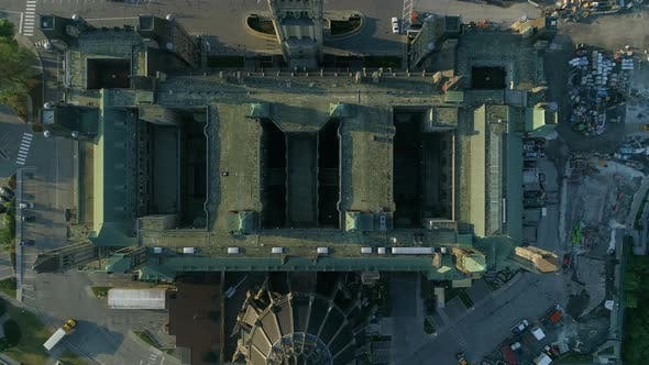 Thumbnail for Parliament of Canada seen from above