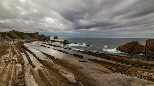Playa De La Arnia Cantabria Spain