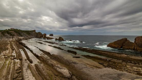 Thumbnail for Playa De La Arnia Cantabria Spain