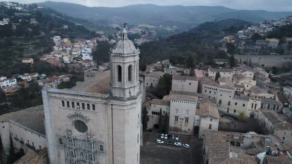 Thumbnail for Girona Cathedral From Above