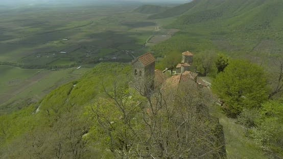 Thumbnail for Nekresi Monastery On Top Of Mountain