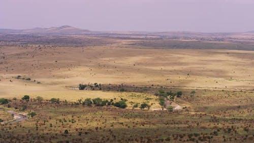 Landscape of Masai Mara