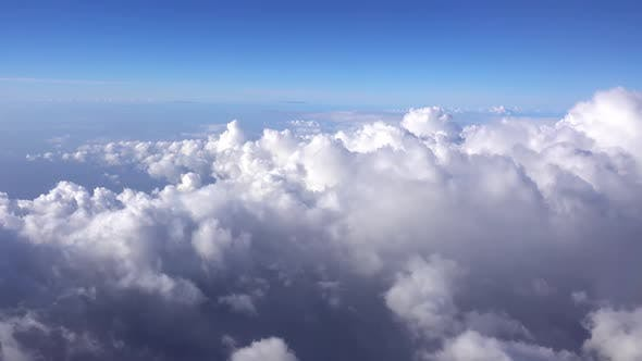 Thumbnail for Above Clouds From Airplane