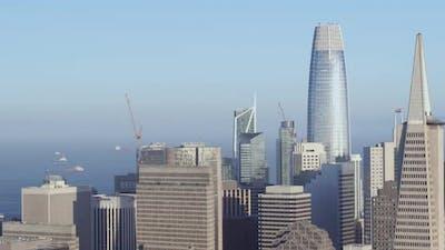 Downtown San Francisco Aerial