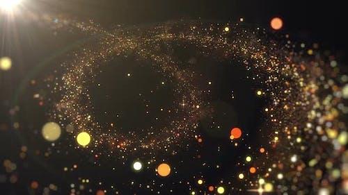 Glittering Magic Particle