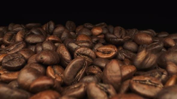 Falling Coffee Bean