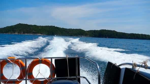Cover Image for Speedboat Departure From Similan Islands