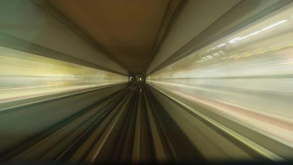Metro In Dubai United Arab Emirates