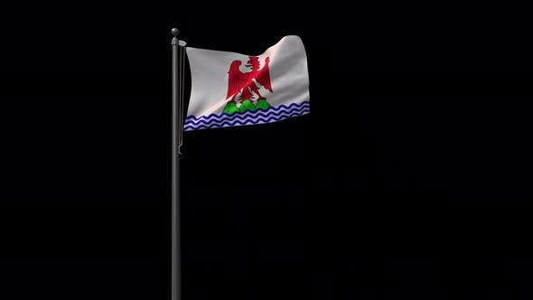 Flag Of The City Nice With Alpha 4K