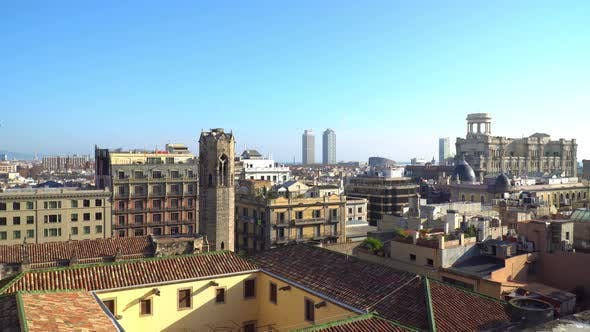 Cover Image for Panorama Of The City Of Barcelona