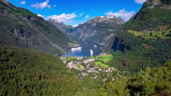 Thumbnail for Geiranger Fjord Nature Norway