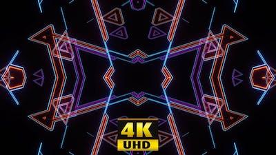 Ripple Disco Kaleidoscope Vj 4K