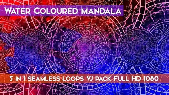 Thumbnail for Water Coloured Mandala