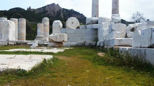 Thumbnail for Temple Of Artemis At Sardes Lydia Ancient Historical City In Salihli Manisa Turkey