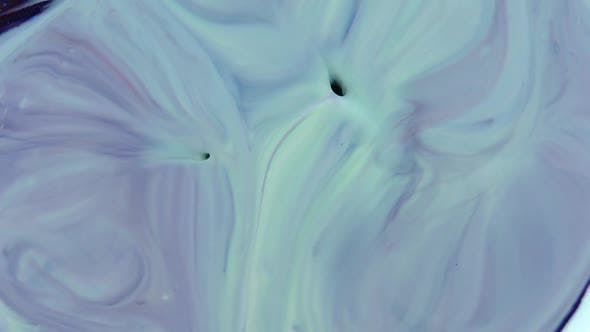 Thumbnail for Abstract Swril Colors Surface Moving Liquid Paint Splashing Reaction 8