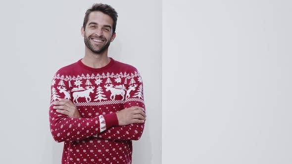 Thumbnail for Weihnachtspullover Guy