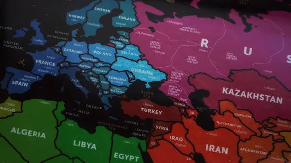 Thumbnail for Eurasia On Wold Map