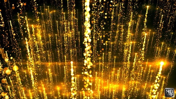 Thumbnail for Gold Light Particles