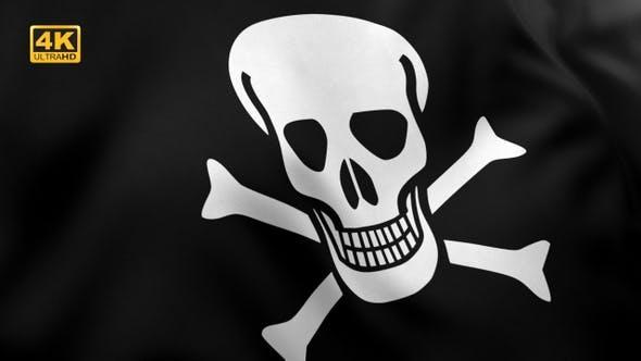 Thumbnail for Pirate Flag V2 - 4K