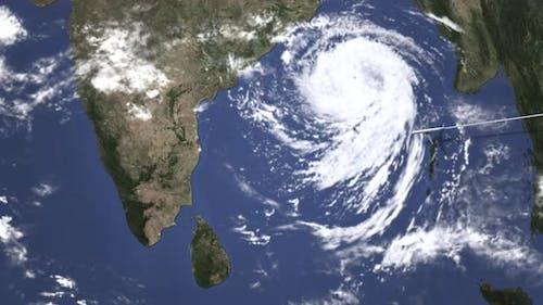 Airlane kommt nach Chennai Indien