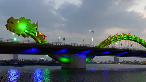 Time lapse from the Dragon bridge