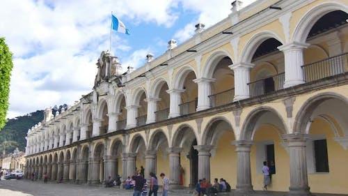 Antigua Guatemala Square Plaza