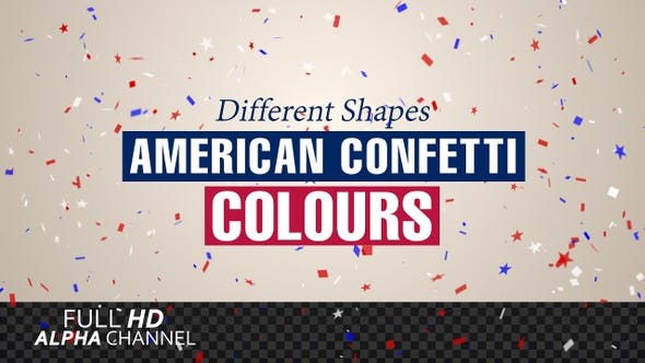 Thumbnail for American Confetti Colors