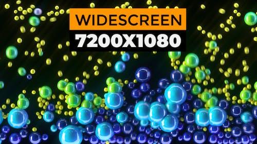 Colorful Bubbles Widescreen