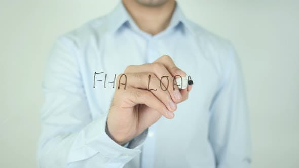 Cover Image for FHA Loan, Writing On Screen