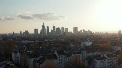 Rooftop View of Urban Neighbourhood