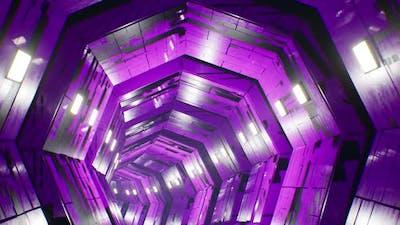 Purple Grunge Tunnel 4K
