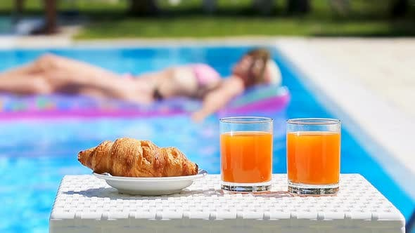 Delicious Breakfast By the Pool