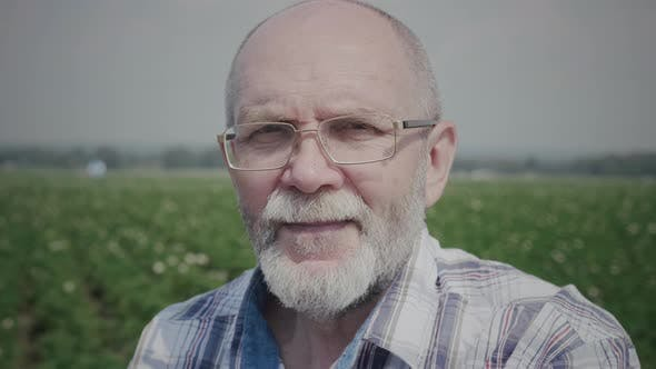 Thumbnail for Portrait of senior farmer