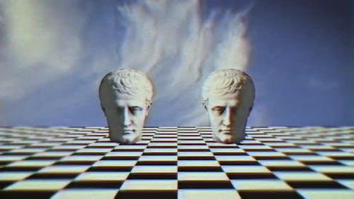 Vaporwave Abstract 90s Background Loop