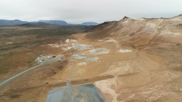 Thumbnail for Geothermal Activity Zone In Iceland
