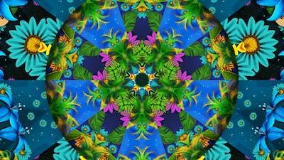 Hawaiian Night Kaleidoscope